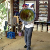 Spinning a Platter